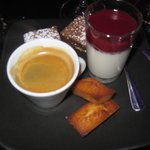 Cafe Gourmand desert- recommended!