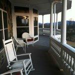 Harmony Manor front porch