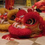 Chines Dragon Dance heads