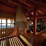 Interior of lodge