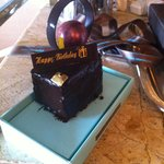 Delicious Birthday Cake from the Shangri-La Chocolate boutique