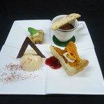 Rapala dessert tasting plate