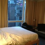 Queen room in Premium Hotel (my back was against the wall when taking the phot