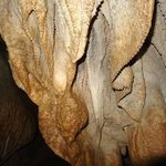 Some of the shaped stalactites