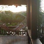 hammock on the wrap around porch...