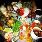 The seafood appetizer...AMAZING (especially with good friends and live jazz!).