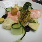 Poached Salmon Lunch Entree