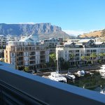 View from our room of Table mountain