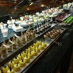 des desserts et encore des desserts