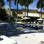 Casa Velas resort, view from pool area