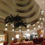 Inside lobby