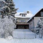 Villa Ottilia in the winter