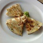 Chicken quesadilla's