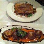mahi and scallops...yum