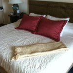 Our king size bed