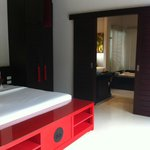 Bedroom looking into ensuite