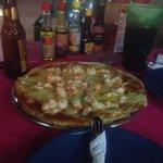 yummy lobster pizza