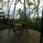 View from inside Bungalow 3