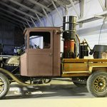 geothermal hangar - old Ford model T