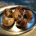 Presentation of the escargot is fabulous.