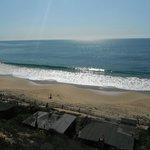 Ocean is but a short walk away