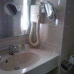 Vasque de la salle de bains