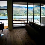Lake Wanaka view from top floor Living area