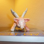 Pigs Can Fly with I AM JACK from bric a brac store