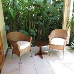 Our veranda