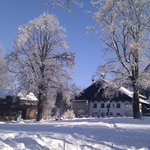 Erentrudisalm im Winter