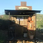 Jann's BBQ/Braai area
