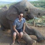 Photo time on the elephants knee