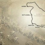 2014 Tour de France route Yorkshire Dales