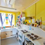 Our sunny self catering kitchen
