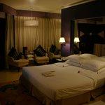 sobria y elegante habitación