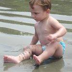 Praia de Tabatinga ótima para crianças