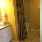 bathroom in one bedroom lock off in river island