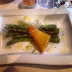 Asparagus, egg, and cheese