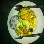 Yellow Curry with Vegetables and Tofu