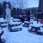 snowy pitlochry
