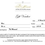 Stuck for gift ideas?  Treat that special someone with a gift voucher.