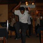 Tanz und Gesang für die Gäste