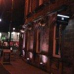 Outside the Crescent Inn , Ilkley.