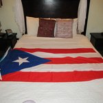 Bed, flag not includes