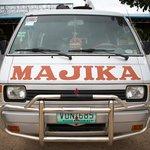 Majika Van at Busuanga Airport