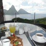 desayuno en el restaurante