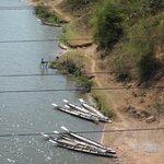 Xe Bang Heing floden var en del av Ho Chi Minh leden