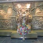 Denna stora är det första man ser när man kommer in i Lam Son krigsmuseum