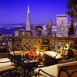 Penthouse Suite Balcony at Night