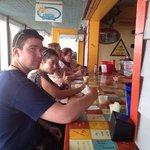 Thumbs up for the food at Coastal Cantina
